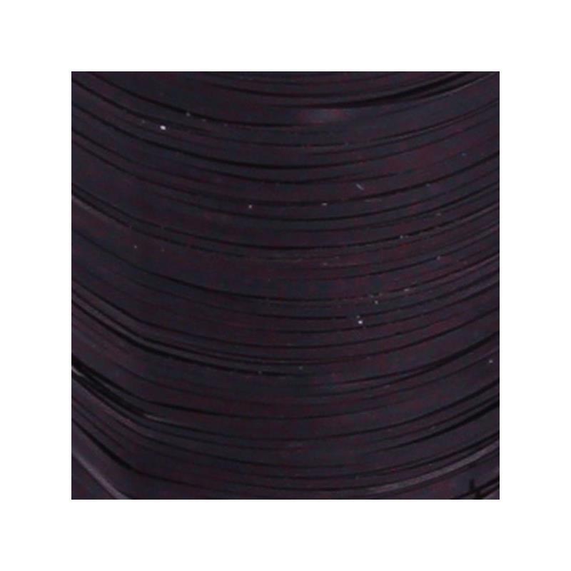 Flat Tinsel - Black Textreme