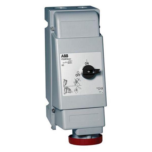 ABB 2CMA167654R1000 Seinäpistorasia IP44, 3P+J, 16 A 400 V