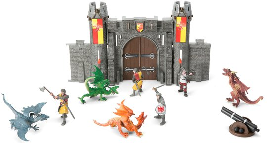 Fantasy Playworld Drageborg Lekesett