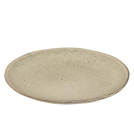 Desserttallrik Stengods Nordic Sand Ø 20 cm