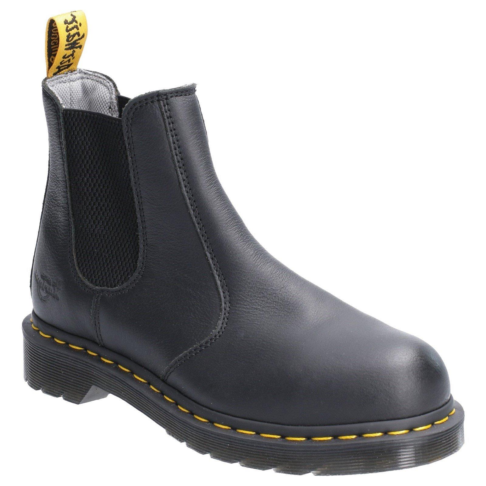 Dr Martens Women's Arbor Elastic Safety Boot Various Colours 29517 - Black 4