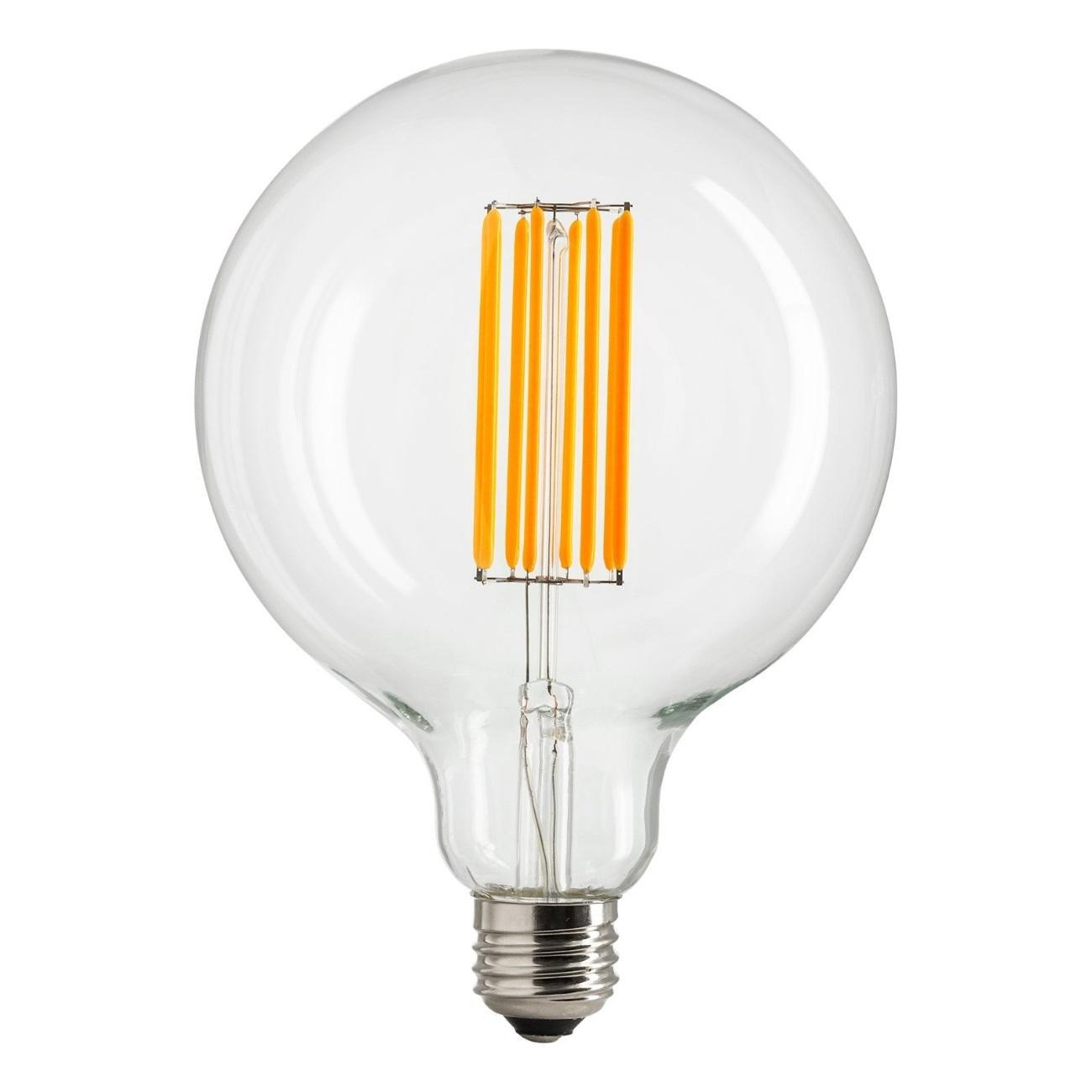 Stor LED Ø 125mm glödlampa, Strömshaga