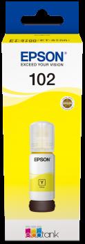 Epson - T102 EcoTank Ink Yellow Bottle - 70ml