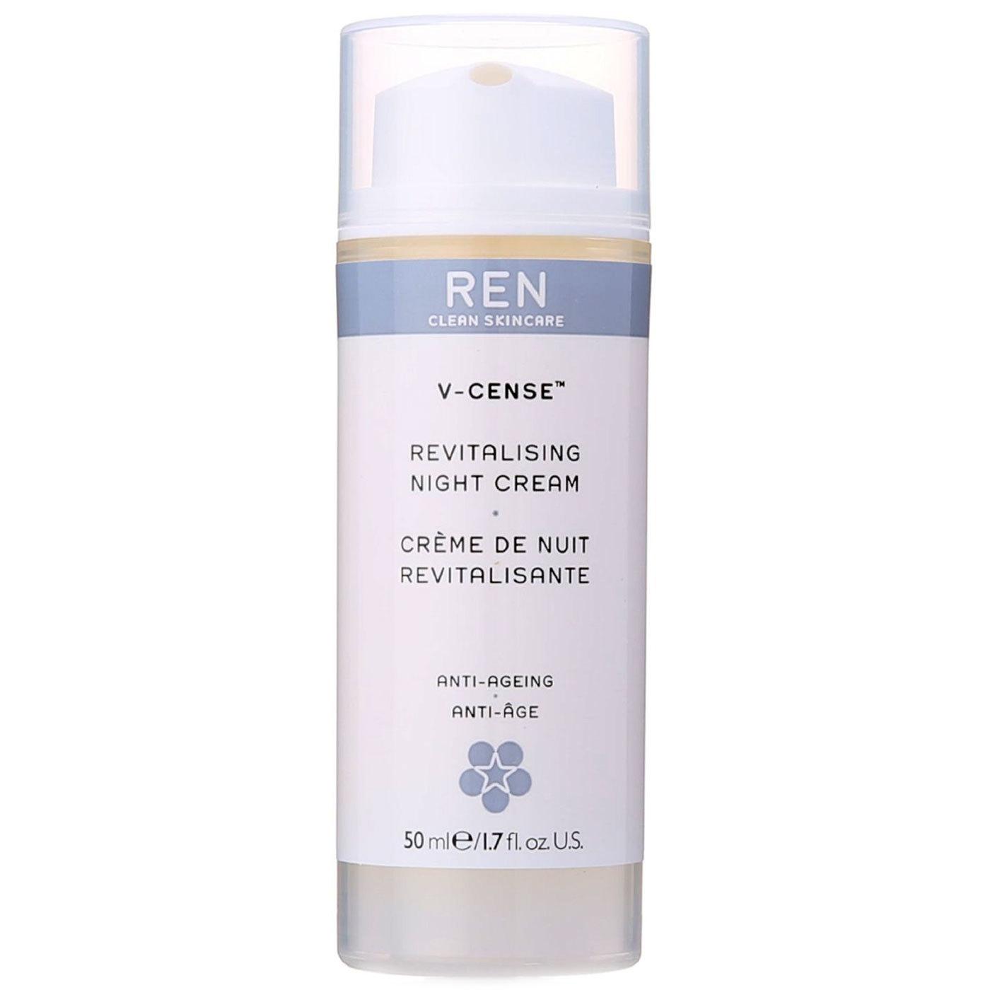REN - V-Cense Revitalising Night Cream 50 ml