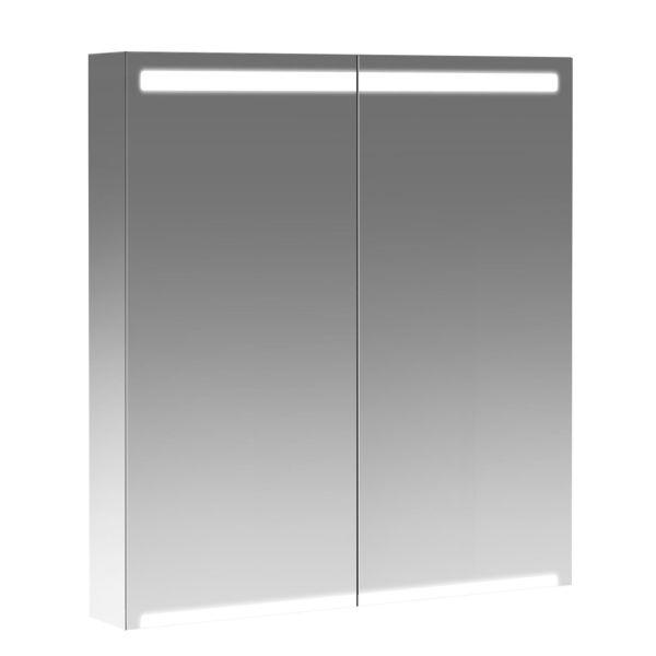 Ifö Option Middle Kylpyhuonekaappi 230 V, integroitu valaistus 90 cm