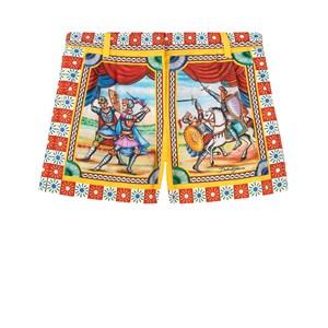 Dolce & Gabbana Carretto Shorts Röda 5 år