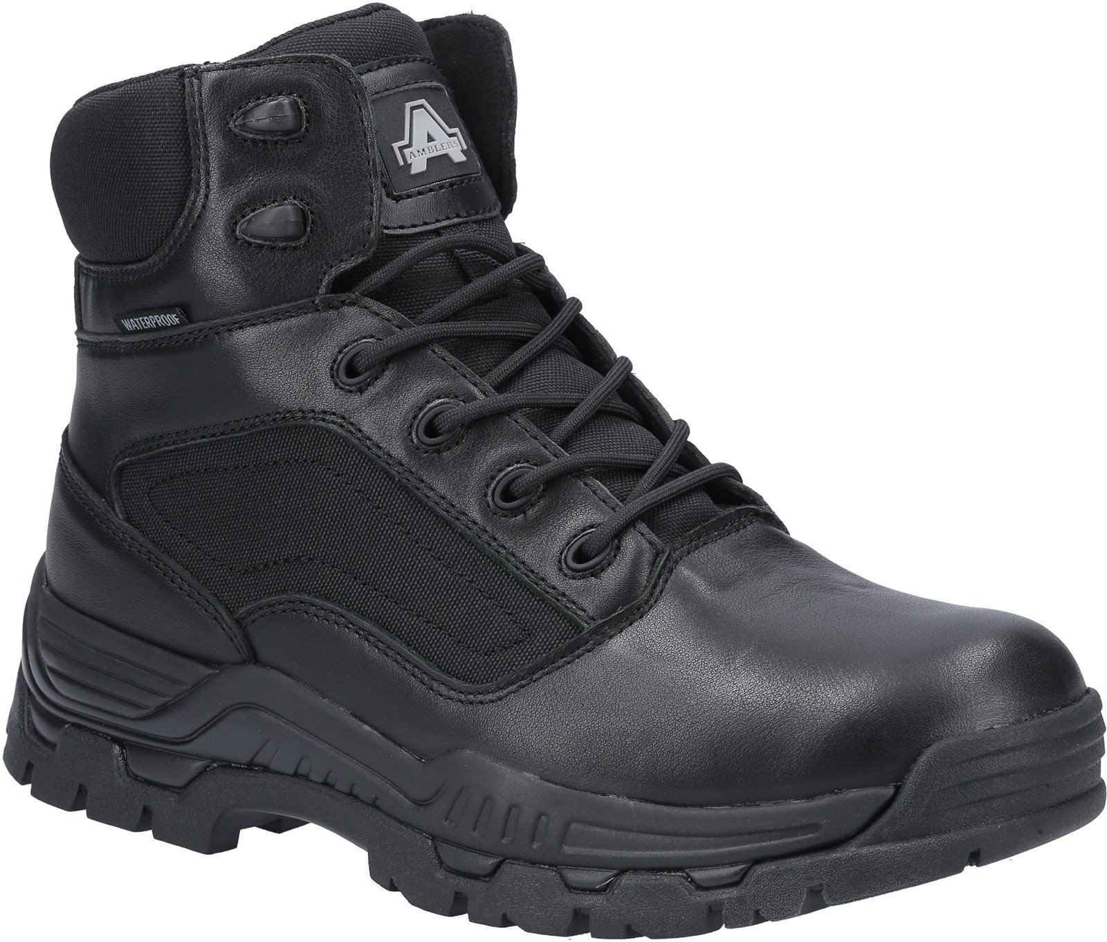 Amblers Unisex Mission Waterproof Occupational Boot Black 31343 - Black 6
