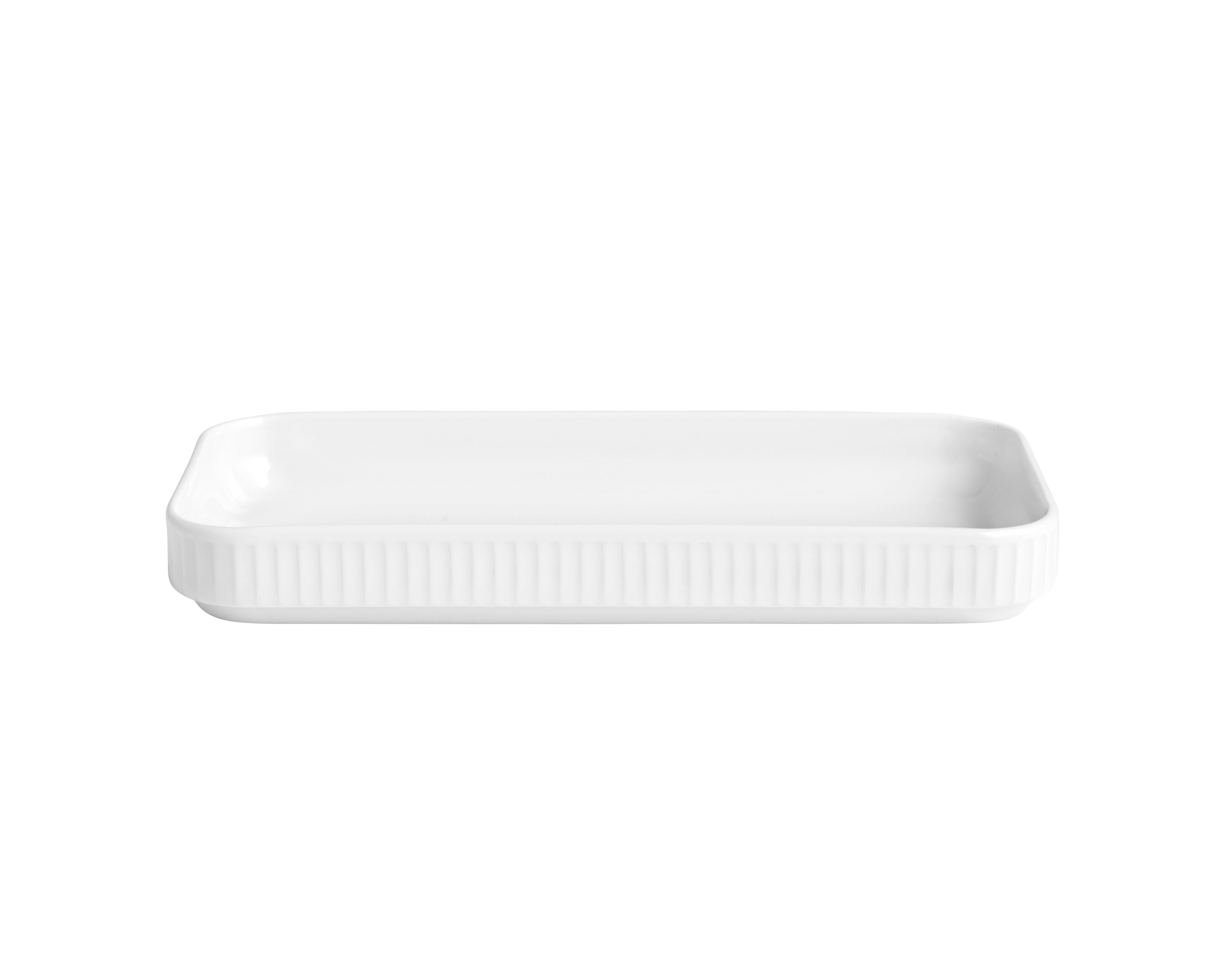 Pillivuyt - Plissé Tapas Dish 24 cm - White (224224)
