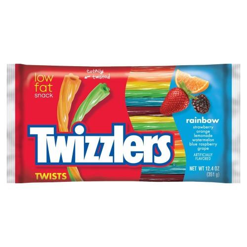 Twizzlers Rainbow Twists Big Bag 351gram