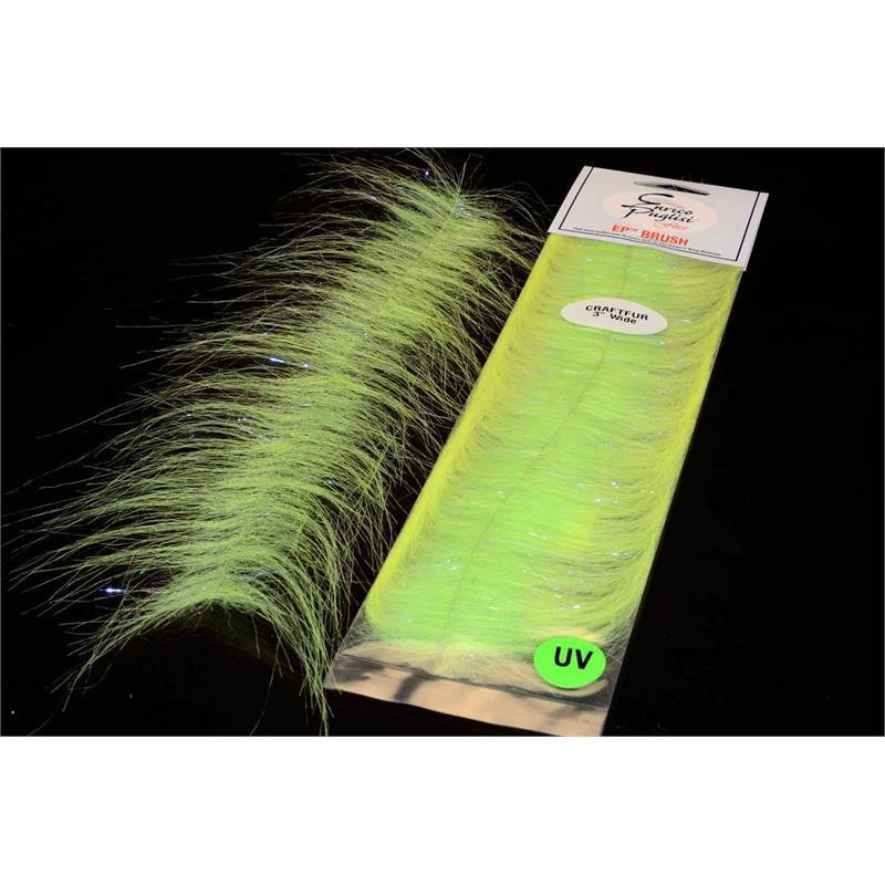 EP Craft Fur Brush Chartreuse Enrico Puglisi