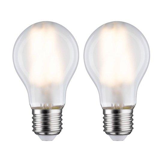 LED-lamppu E27 7W 2 700 K matta 2 kpl