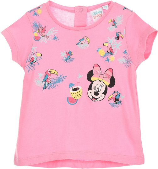 Disney Minni Mus T-Skjorte, Pink, 12 Måneder