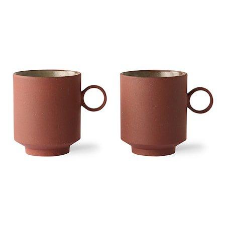 Bold & Basic Ceramics KaffeKppp Terra 2 stk