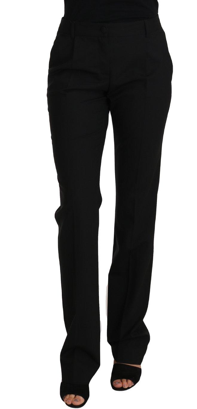 Dolce & Gabbana Women's Trouser Black PAN61084 - IT38 XS