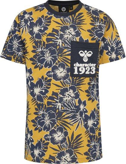 Hummel Albert T-Skjorte, Golden Rod, 110