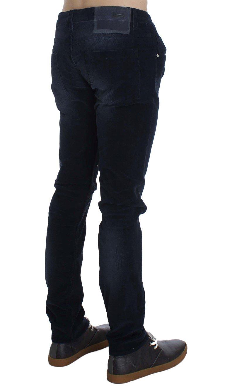 ACHT Men's Cotton Stretch Slim Fit Jeans Blue SIG30464 - W34