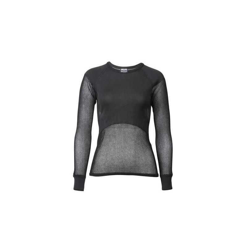 Brynje W's Super Thermo Shirt Black L Netting trøye med lang arm