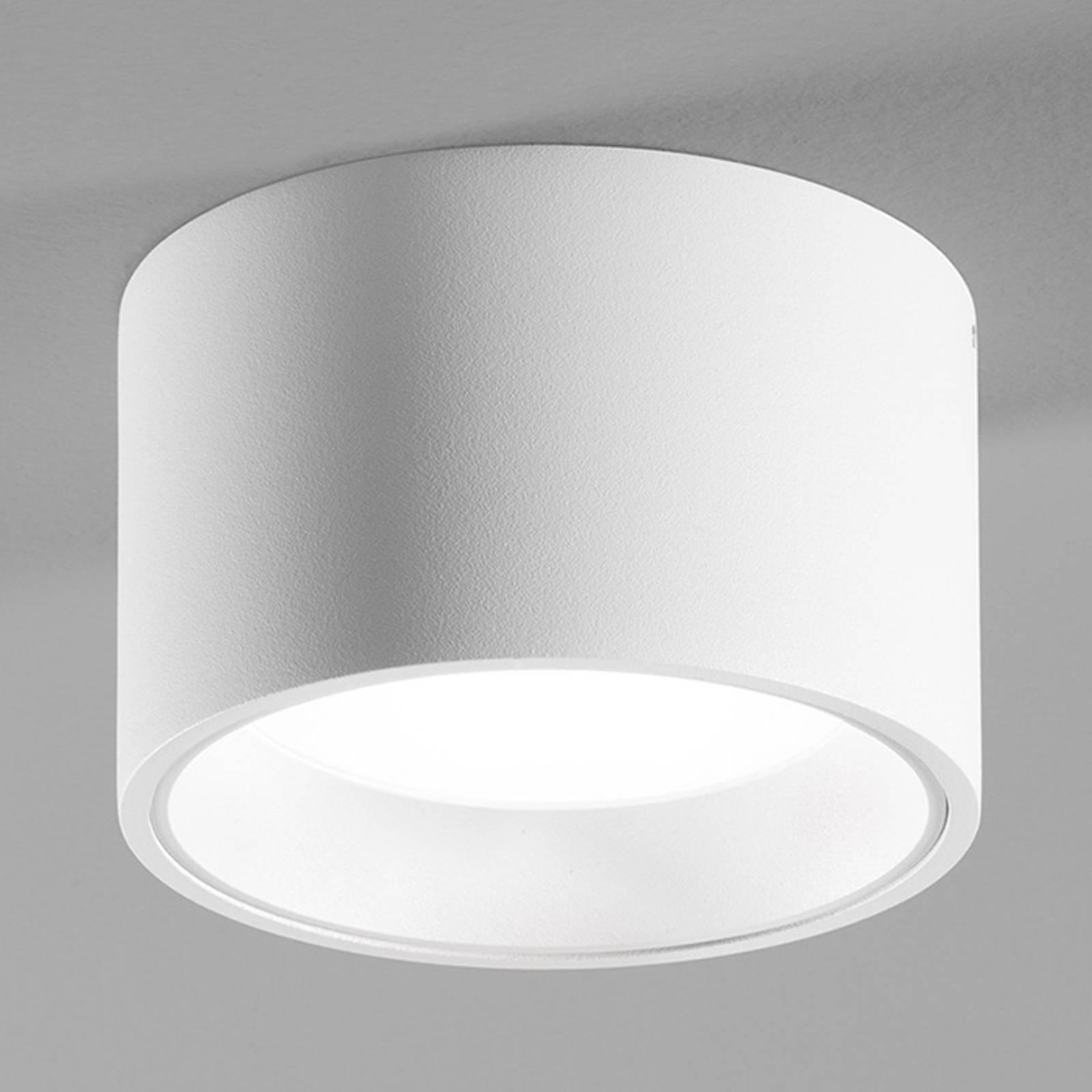 Valkoinen LED-kattovalaisin Ringo ja IP54