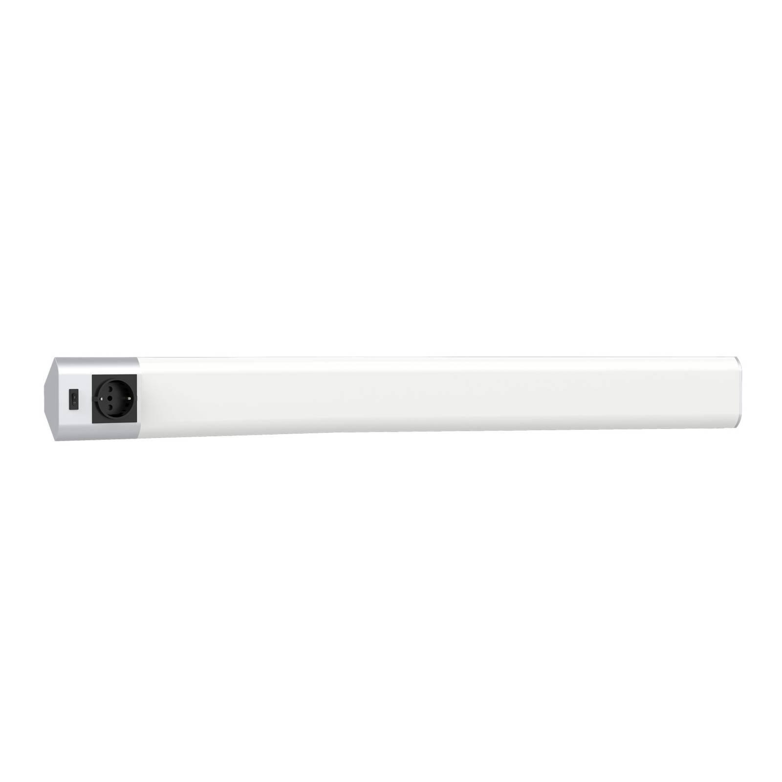 Lindby Eray -LED-kaapinalusvalo, pistorasia, 83cm