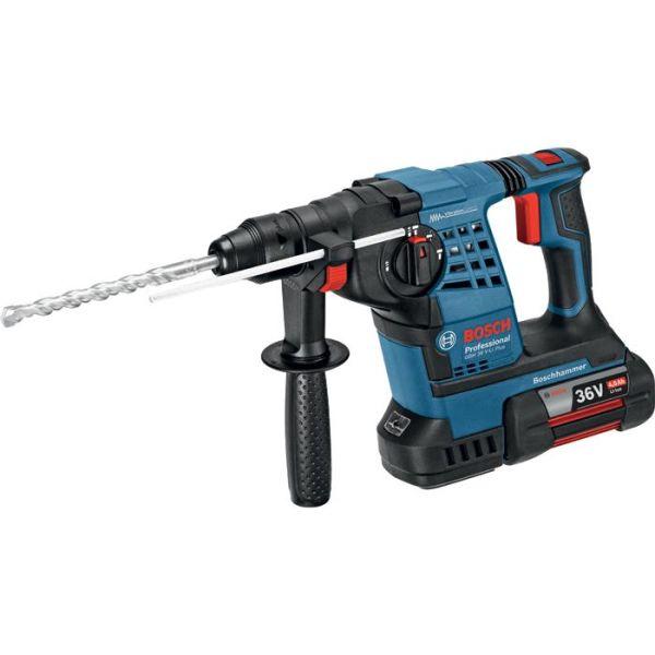 Bosch GBH 36 V-LI Plus Borhammer med batterier og lader