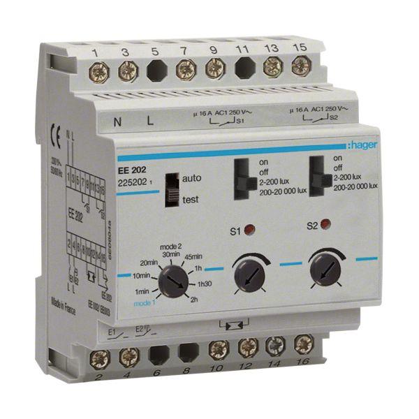 Hager EE202 Valorele 2-20000 lx, 230V, IP20
