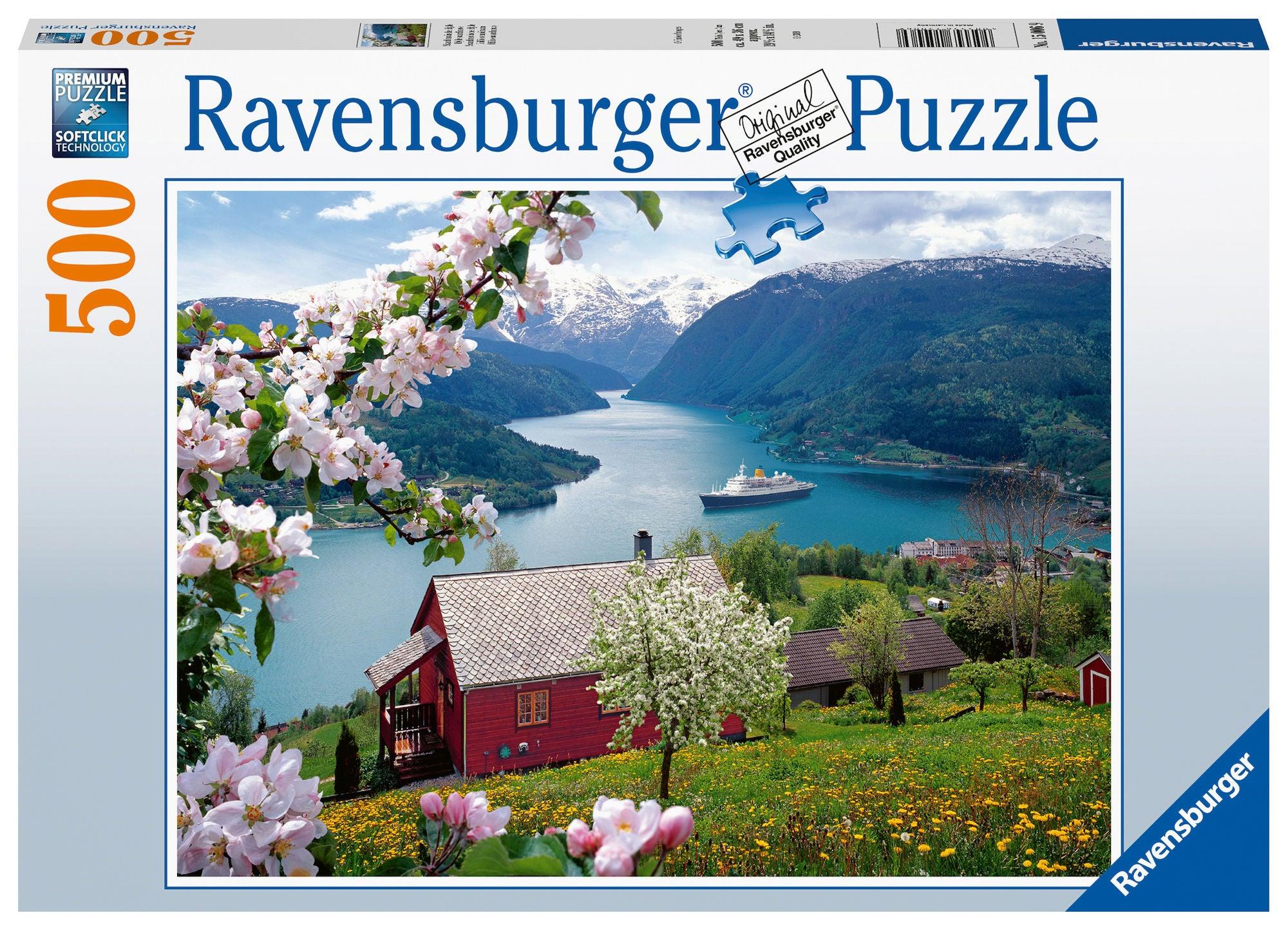 Ravensburger Pussel Landskap 500 Bitar