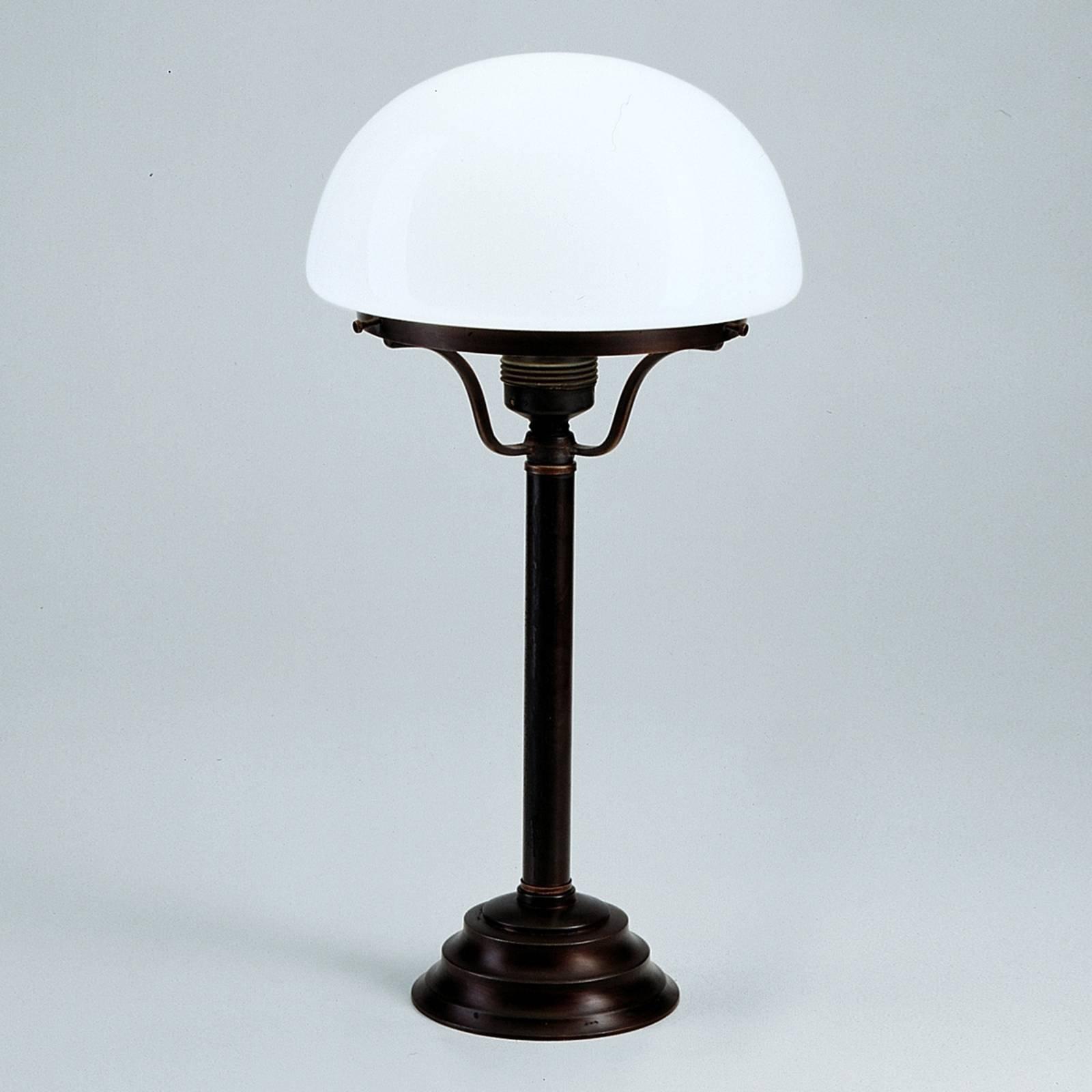 Bordlampe Frank med antikt utseende