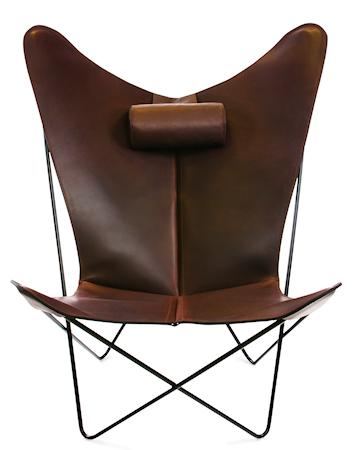 KS Chair Flaggermuslenestolen - Black/mocca