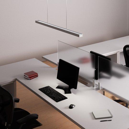 Himmennettävä LED-riippuvalaisin Jolinda toimisto