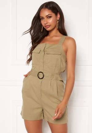 ONLY Noreen-Bibs Playsuit Martini Olive 34
