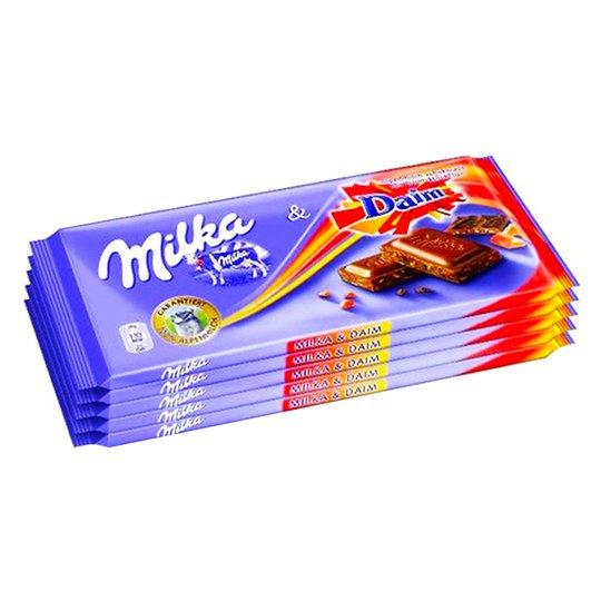 Mjölkchoklad Daim 5 x 100g - 33% rabatt