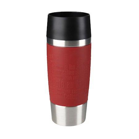 TRAVEL kopp 0,36L red sleeve