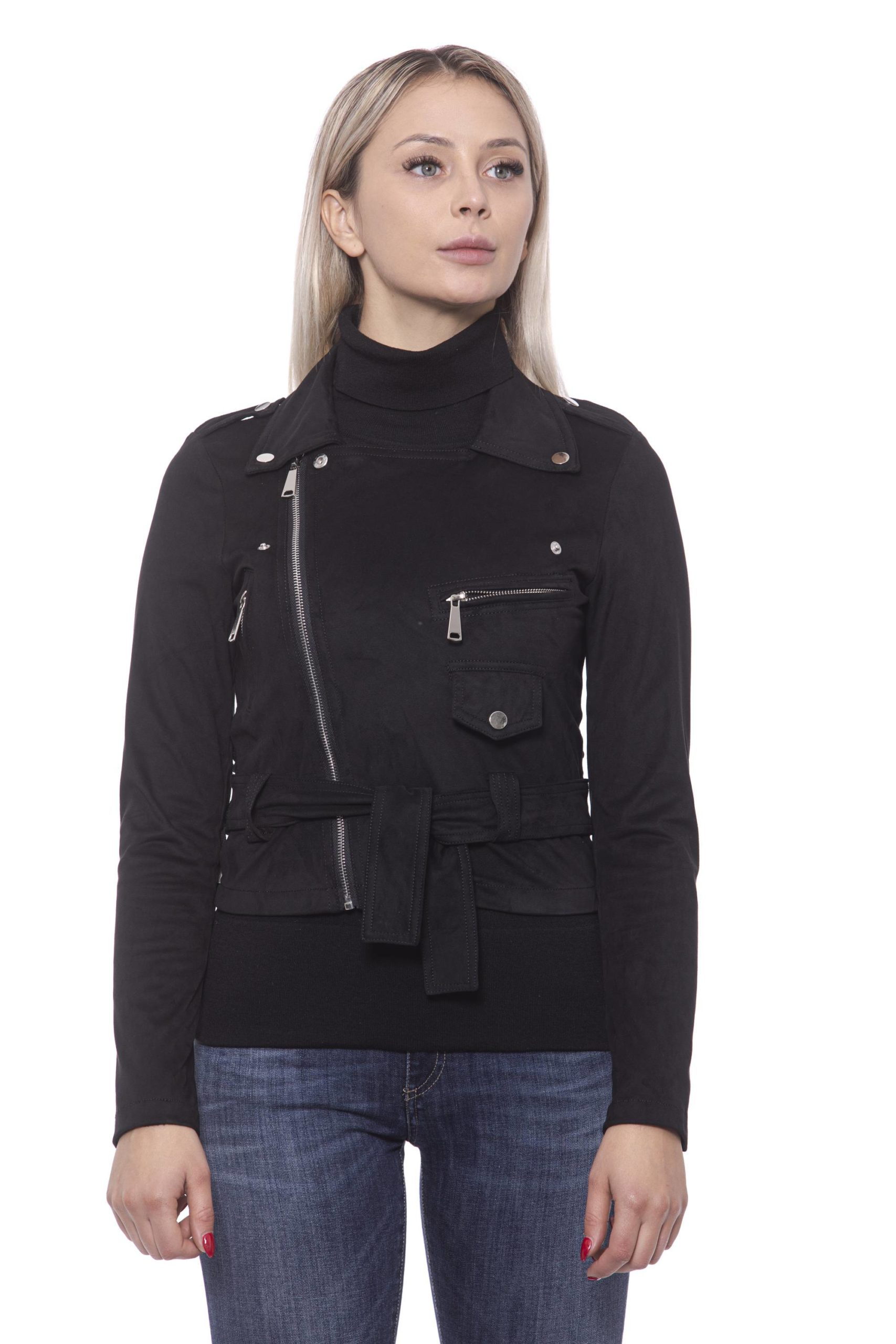19V69 Italia Women's Nero Jacket 191388444 - IT42 | S