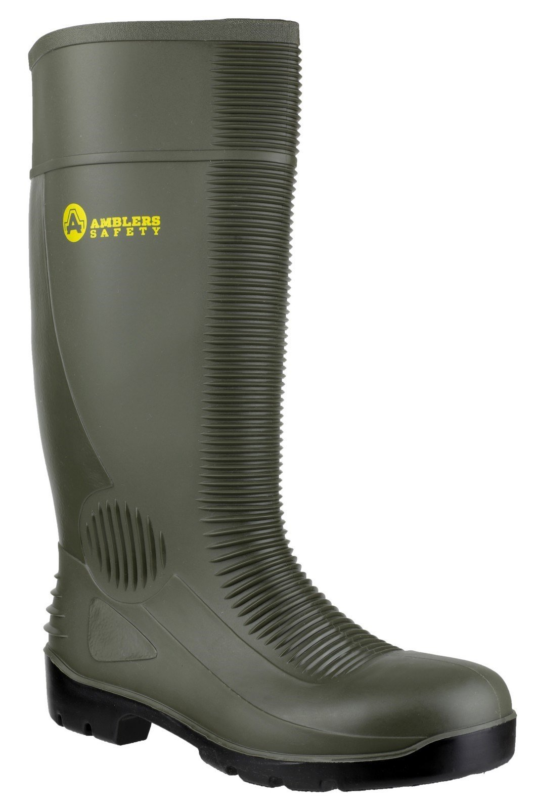 Amblers Unisex Safety Wellington Boot Green 21234 - Green 4