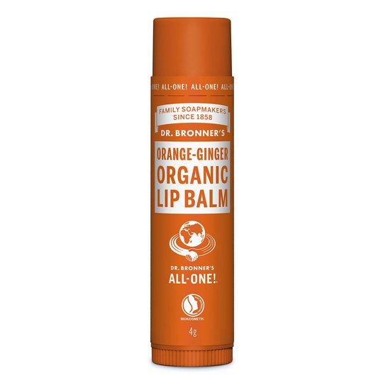 Organic Lip Balm, 4 g Dr. Bronner's Luonnonkosmetiikka