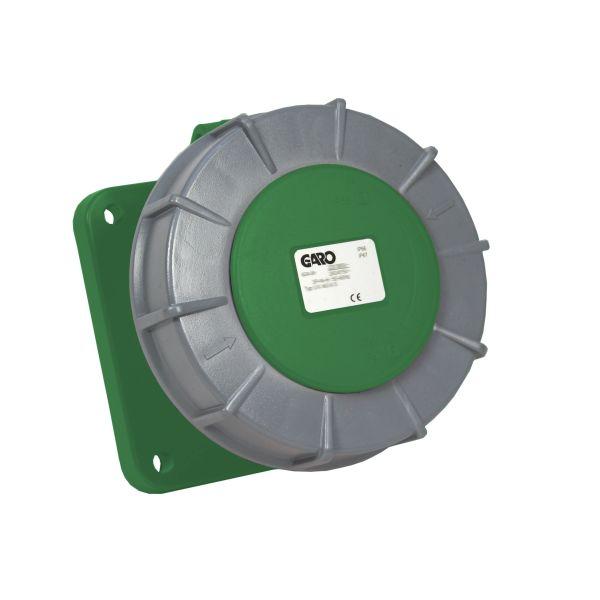 Garo UIV 3125-10 S Paneelin ulostulo IP67, 4-napainen, 125A Vihreä, 10 h