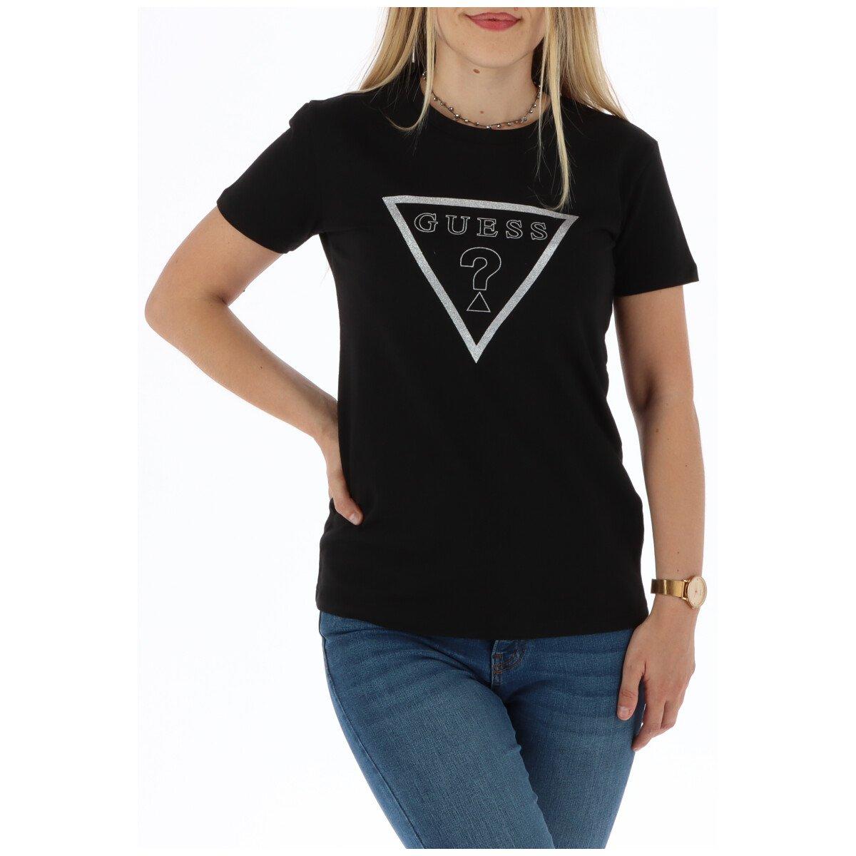 Guess Women's T-Shirt Various Colours 301064 - black XS