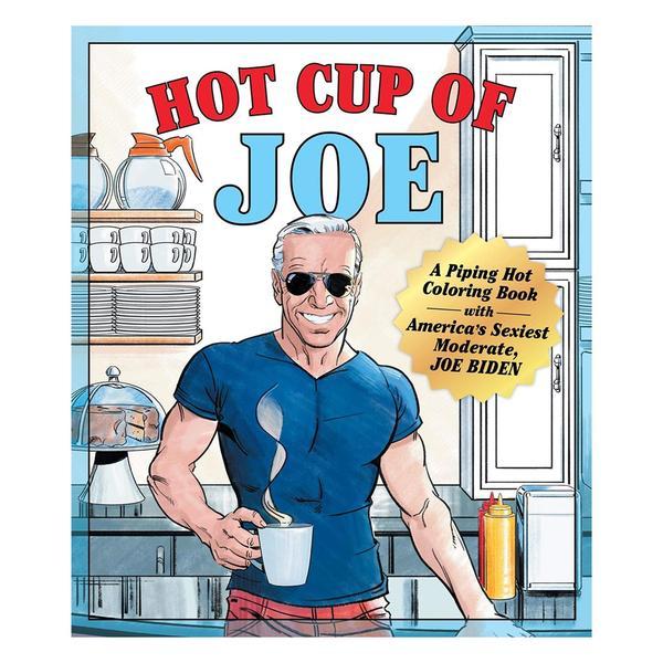 Hot Cup of Joe Colouring Book (Biden)