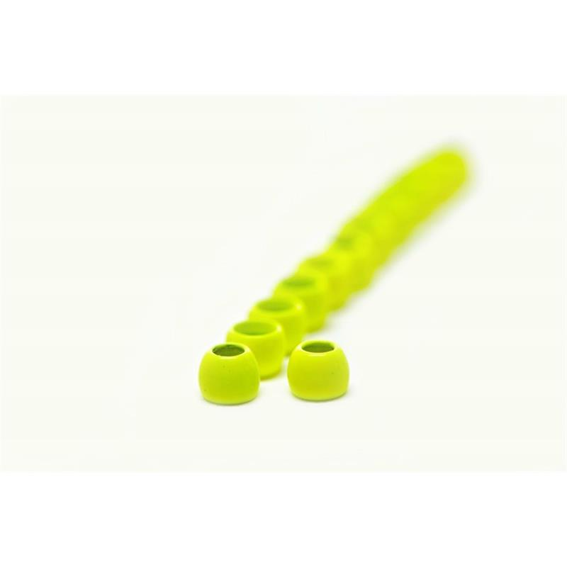 FF Brass Beads 4mm - Fluo Yellow/Chart FutureFly