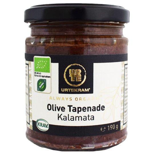 Luomu Kalamata-Oliivitapenade 190g - 33% alennus
