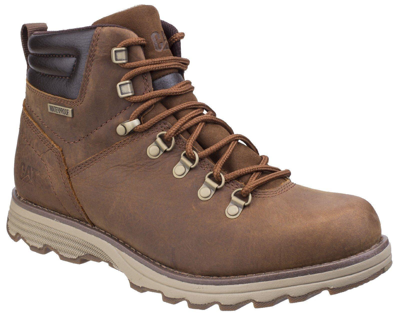 CAT Lifestyle Men's Sire Waterproof Lace Up Boot Brown Sugar 26181 - Brown Sugar 7