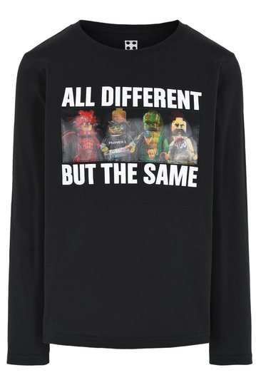 LEGO Collection Langermet T-Shirt, Black, 104