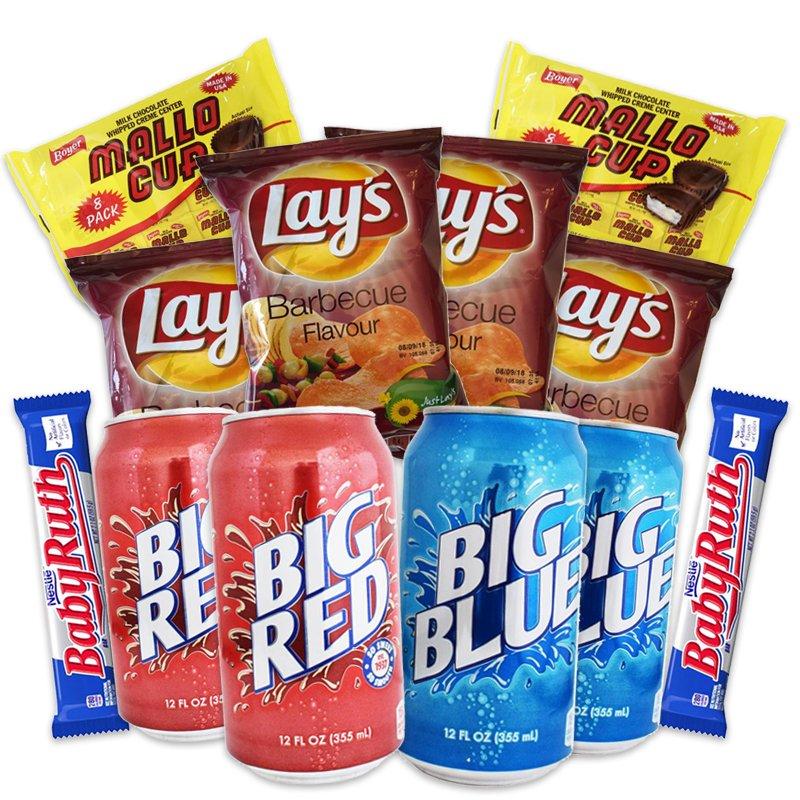 Amerikanska Snacks-paketet - 56% rabatt