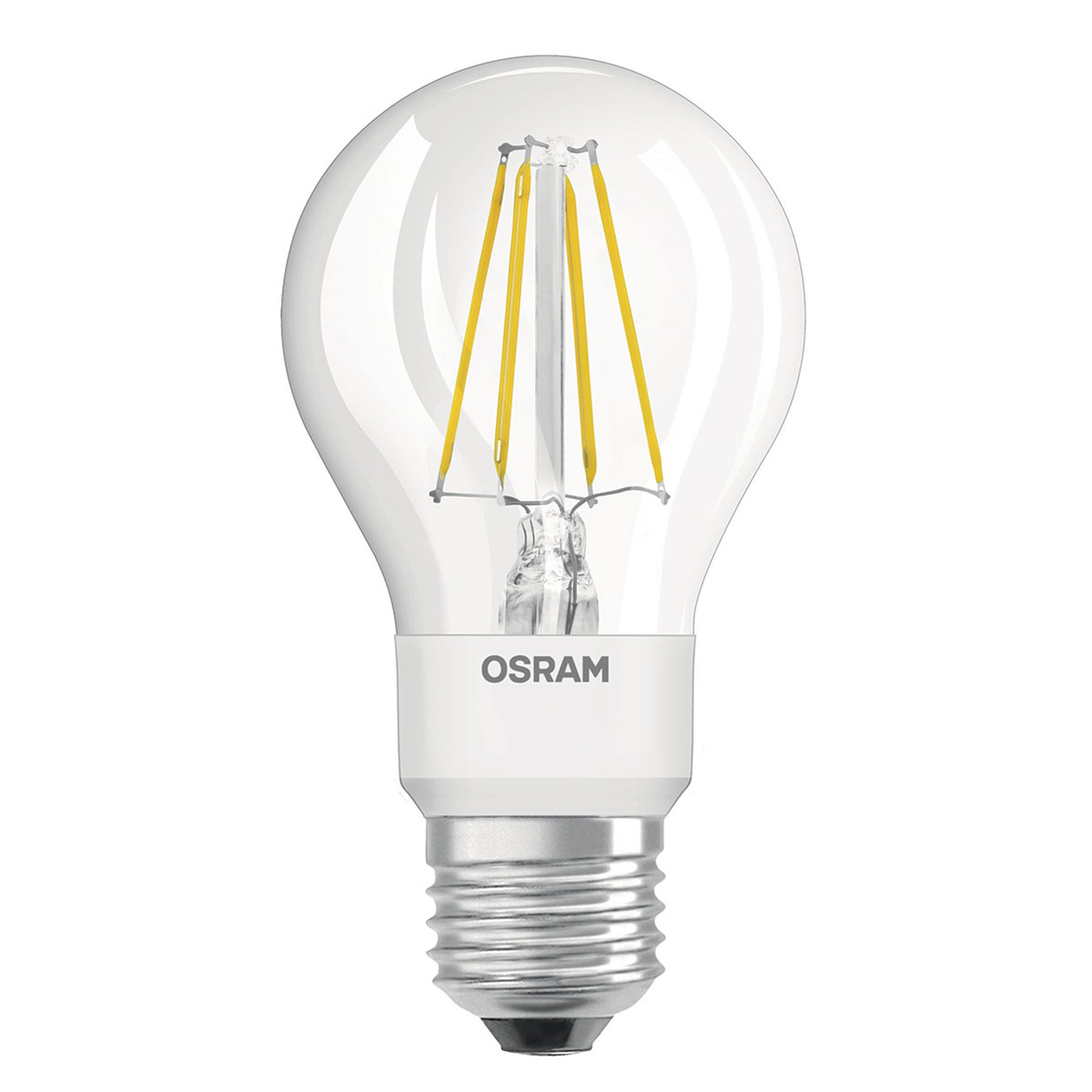 OSRAM LED-pære 4,5W Star+ GLOWdim filament klar