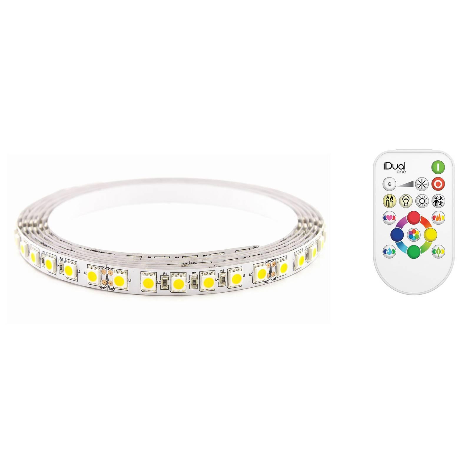 iDual Strip light -LED-nauha, aloitussarja 3 m