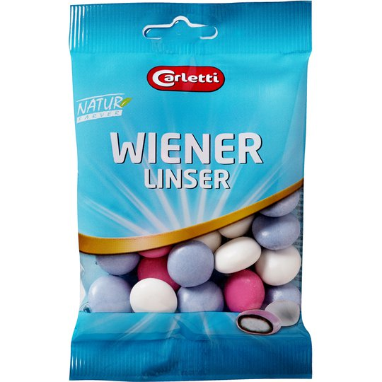 "Godis ""Wienerlinser"" 80g - 37% rabatt"