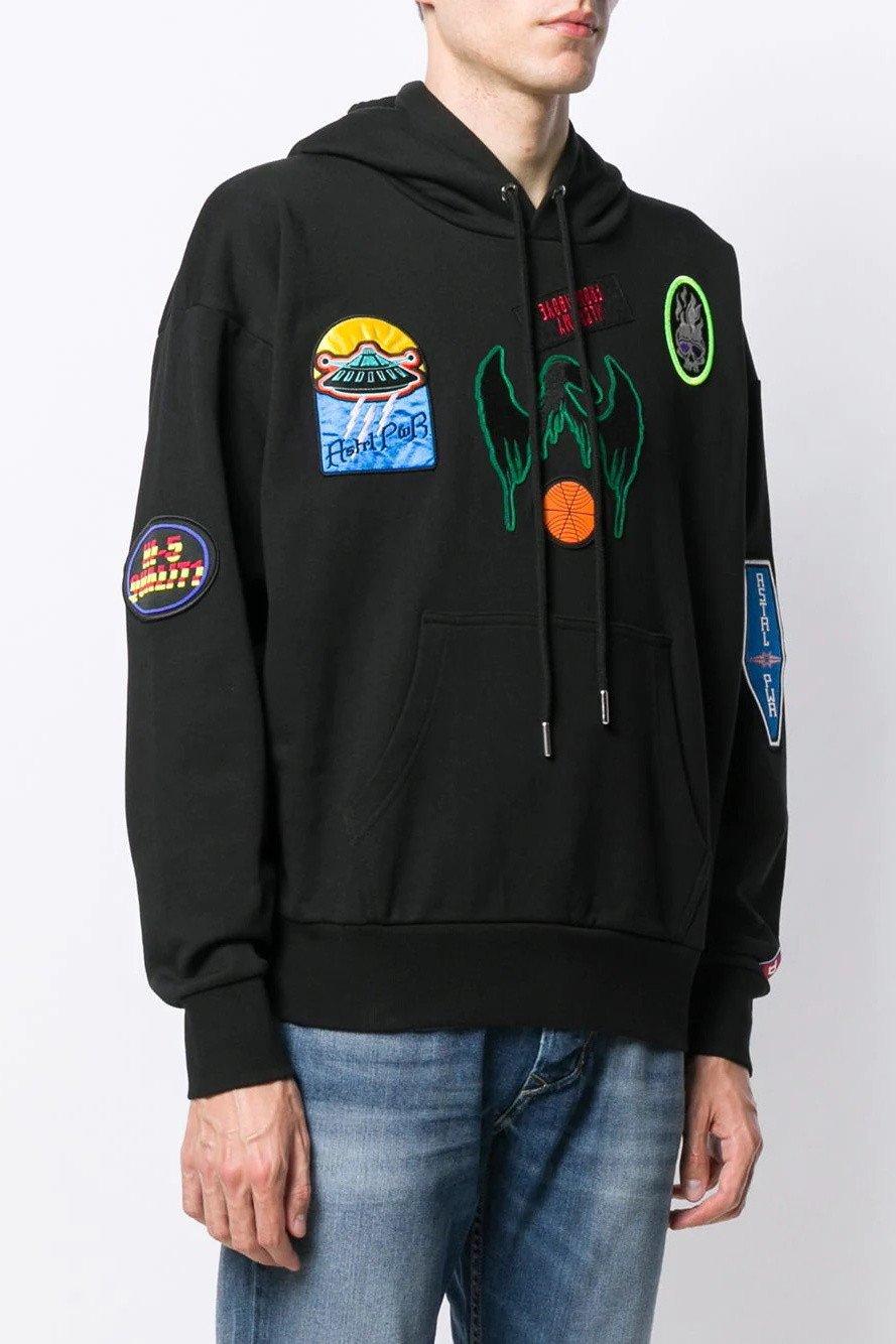 Diesel Men's Sweatshirt Various Colours 294068 - black L