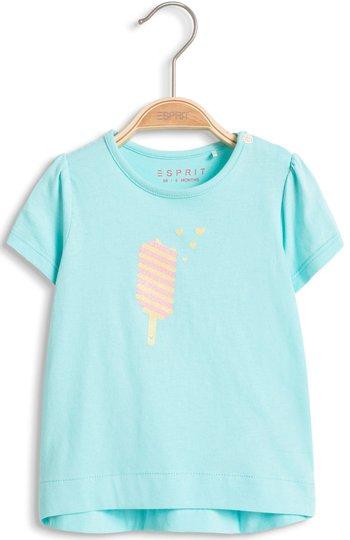 ESPRIT T-Shirt Eis, Turquoise str 62
