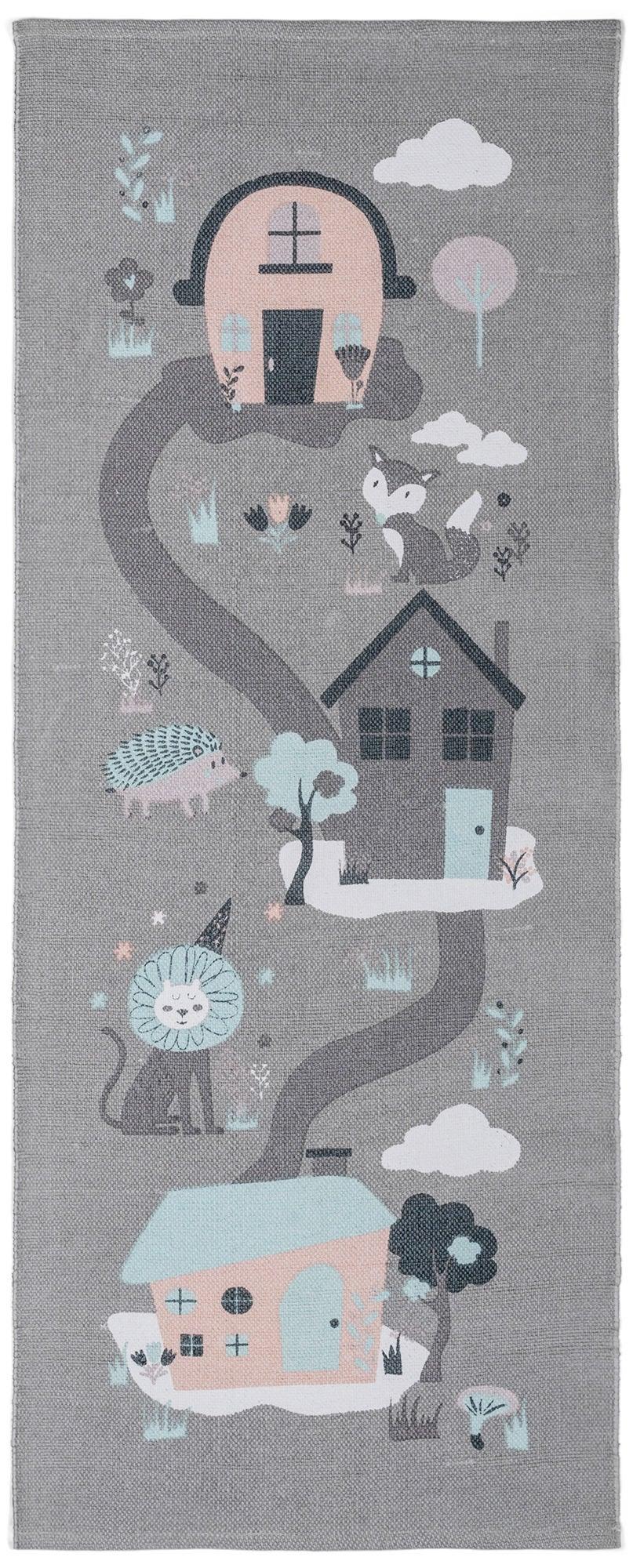 Alice & Fox Matto Houses, Grey