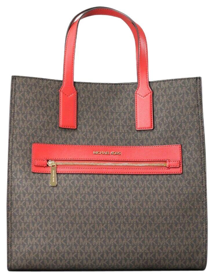 Michael Kors Women's Kenly Tote Bag Brown 81594